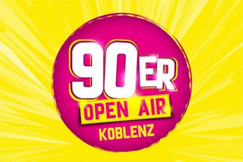 Gewinnspiel 90 Open Air Koblenz