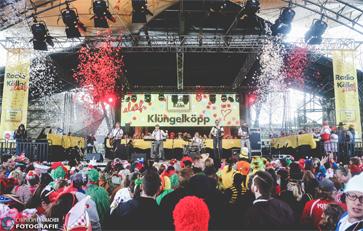 Startschuss für den Kölner Karneval gefallen