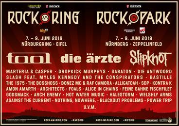 Neue Bands für Rock am Ring 2019