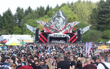 6000 Besucher beim Revolt Festival